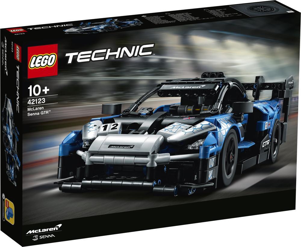 LEGO® Technic McLaren Senna GTR™ 830 Teile 42123