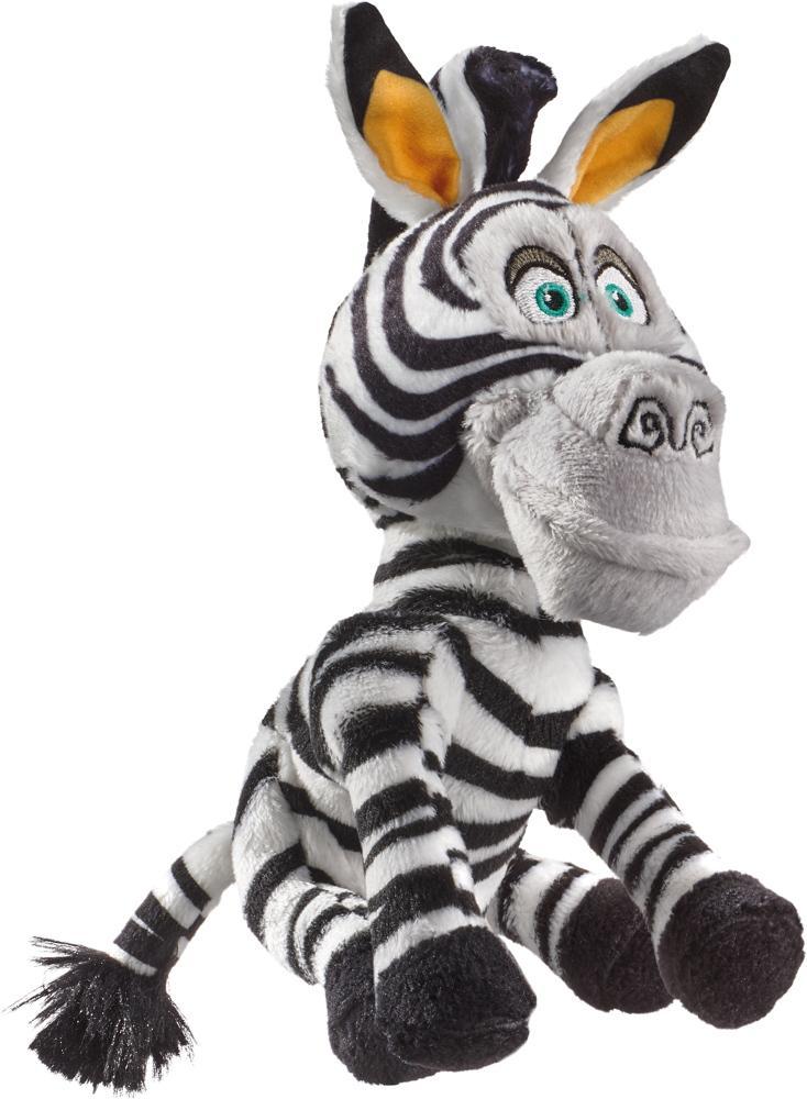 Schmidt Spiele Plüsch Stofftier Dreamworks Madagascar Marty, Zebra 18 cm 42709