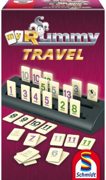 Schmidt Spiele Reisespiel Zuordnungsspiel MyRummy Travel 49284