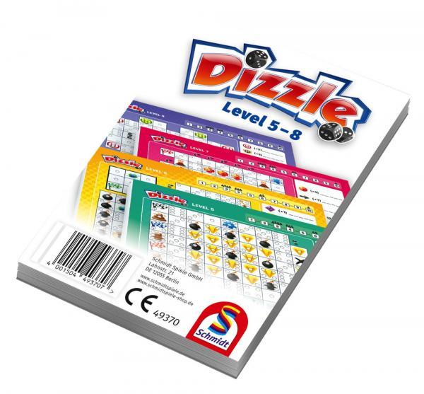 10 Schmidt Spiele Zusatzblöcke Dizzle Level 5 - 8 49370