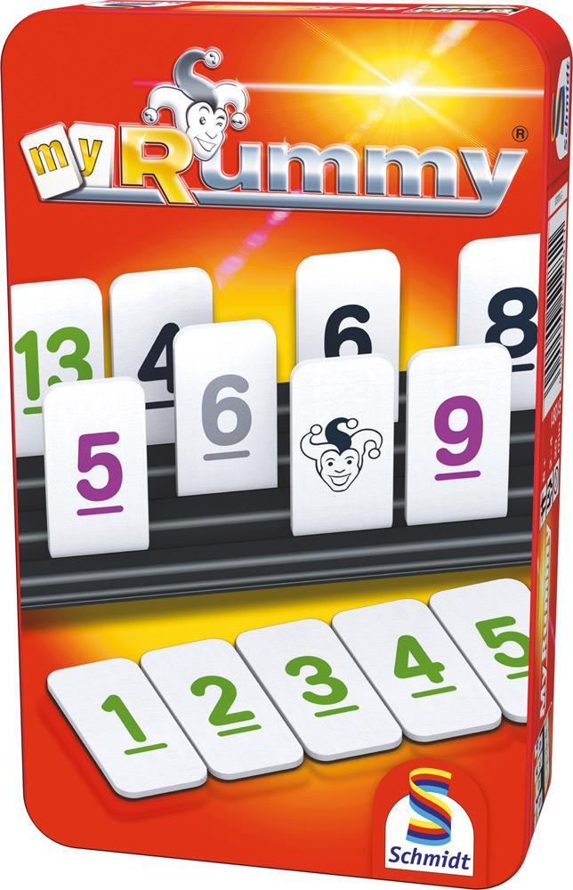 Schmidt Spiele Reisespiel Zuordnungsspiel MyRummy 51281