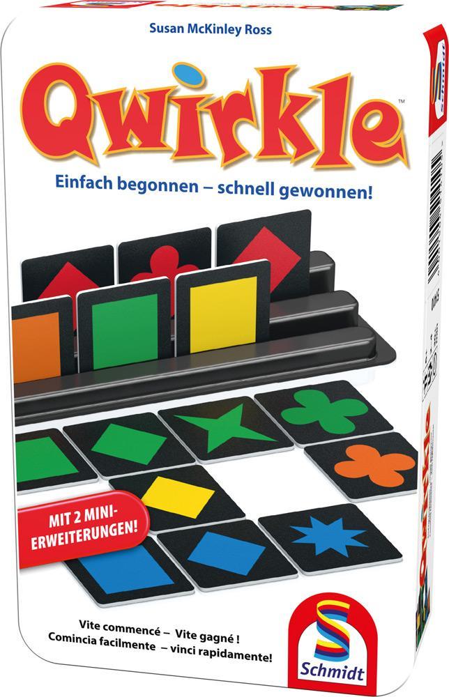 Schmidt Spiele Reisespiel Zuordnungsspiel Qwirkle 51410
