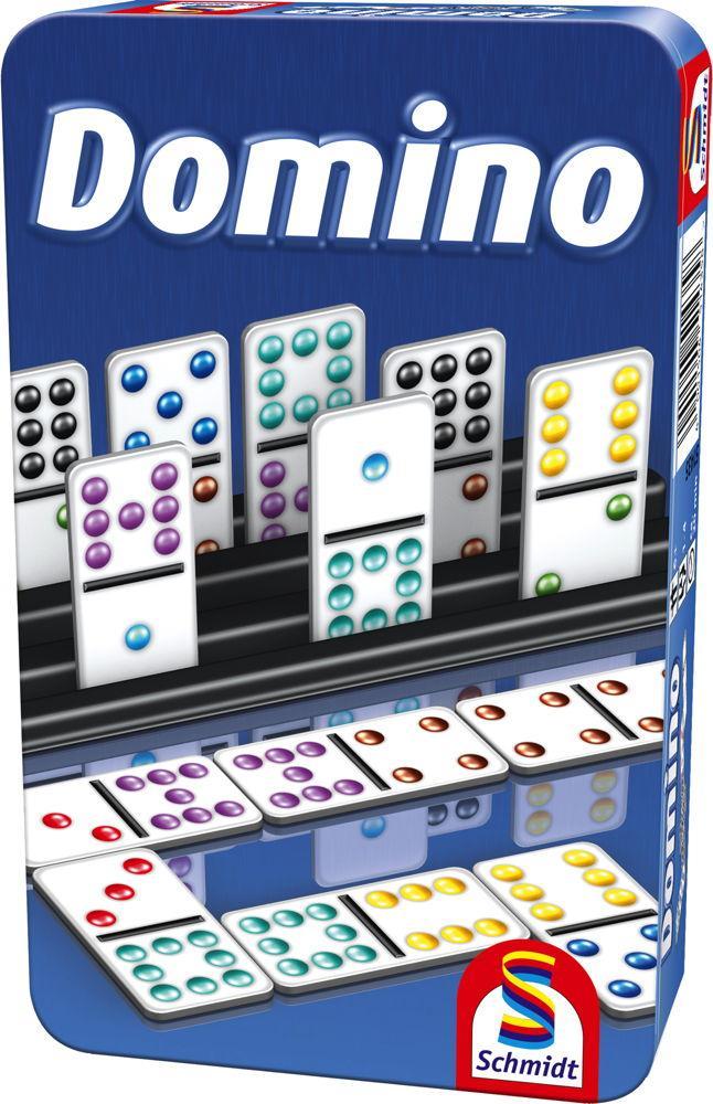 Schmidt Spiele Reisespiel Zuordnungsspiel Domino 51435
