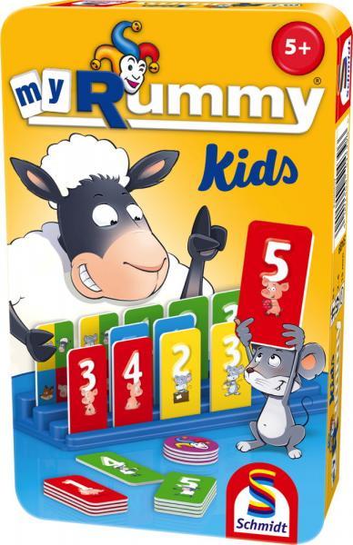 Schmidt Spiele Reisespiel Zuordnungsspiel MyRummy Kids 51439