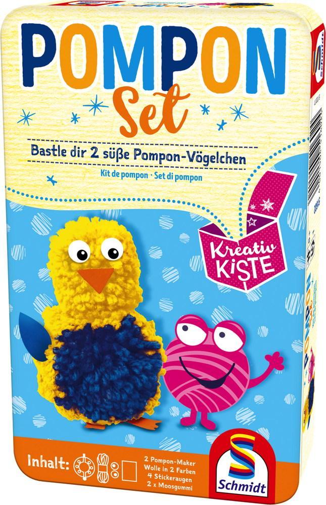 Schmidt Spiele Kreativkiste Pompon Set 51602