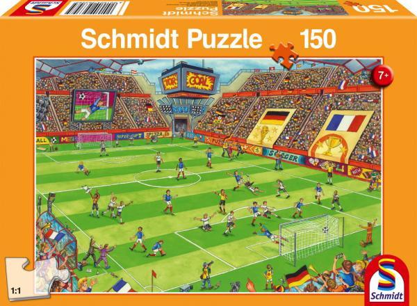150 Teile Schmidt Spiele Kinder Puzzle Finale im Fußballstadion 56358