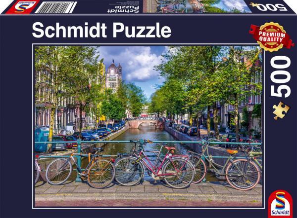 500 Teile Schmidt Spiele Puzzle Amsterdam 58942