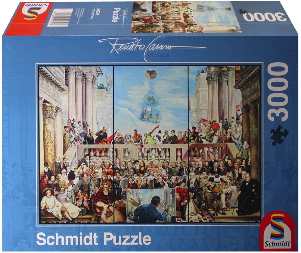 3000 Teile Schmidt Spiele Puzzle Renato Casaro So vergeht der Ruhm der Welt 59270