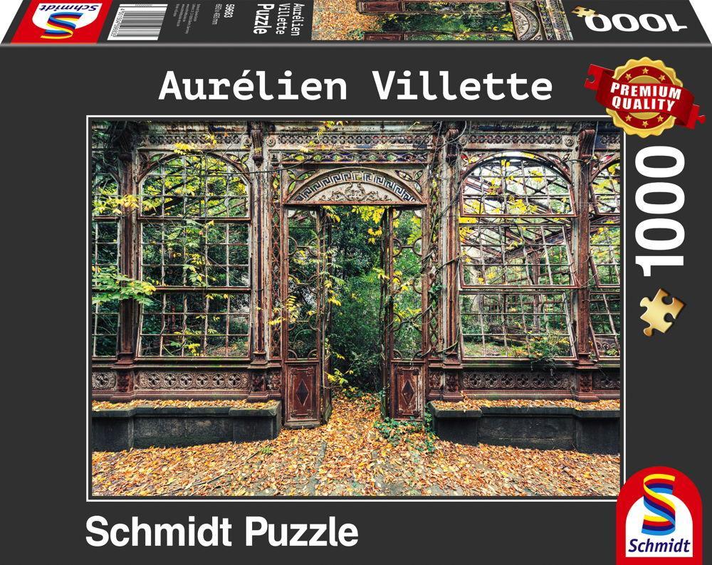 1000 Teile Schmidt Spiele Puzzle Aurélien Villette Bewachsene Bogenfenster 59683