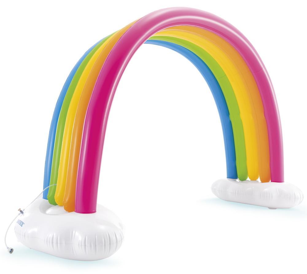Intex Outdoor Wasser Spielzeug Wassersprinkler Rainbow Cloud Sprinkler ab 3 Jahren 56597NP