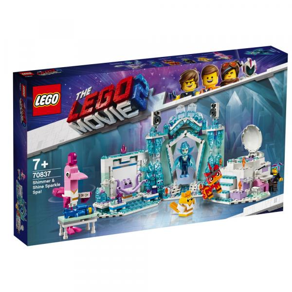 The LEGO Movie™ 2 Schimmerndes Glitzer-Spa! 694 Teile 70837