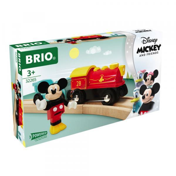 Brio World Eisenbahn Zug Batteriebetriebener Micky Maus Zug 3 Teile 32265