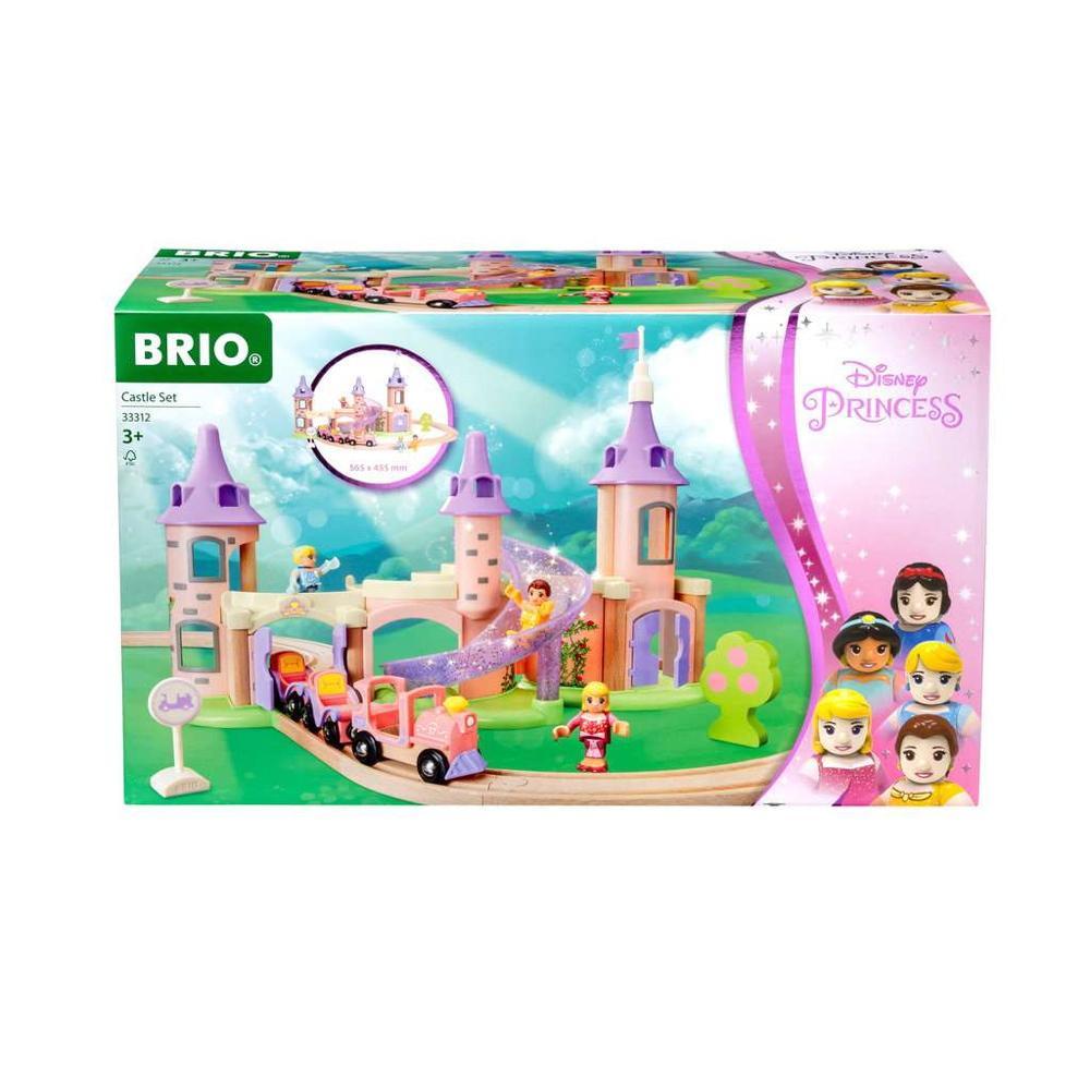 Brio World Eisenbahn Set Disney Princess Traumschloss Eisenbahn Set 18 Teile 33312