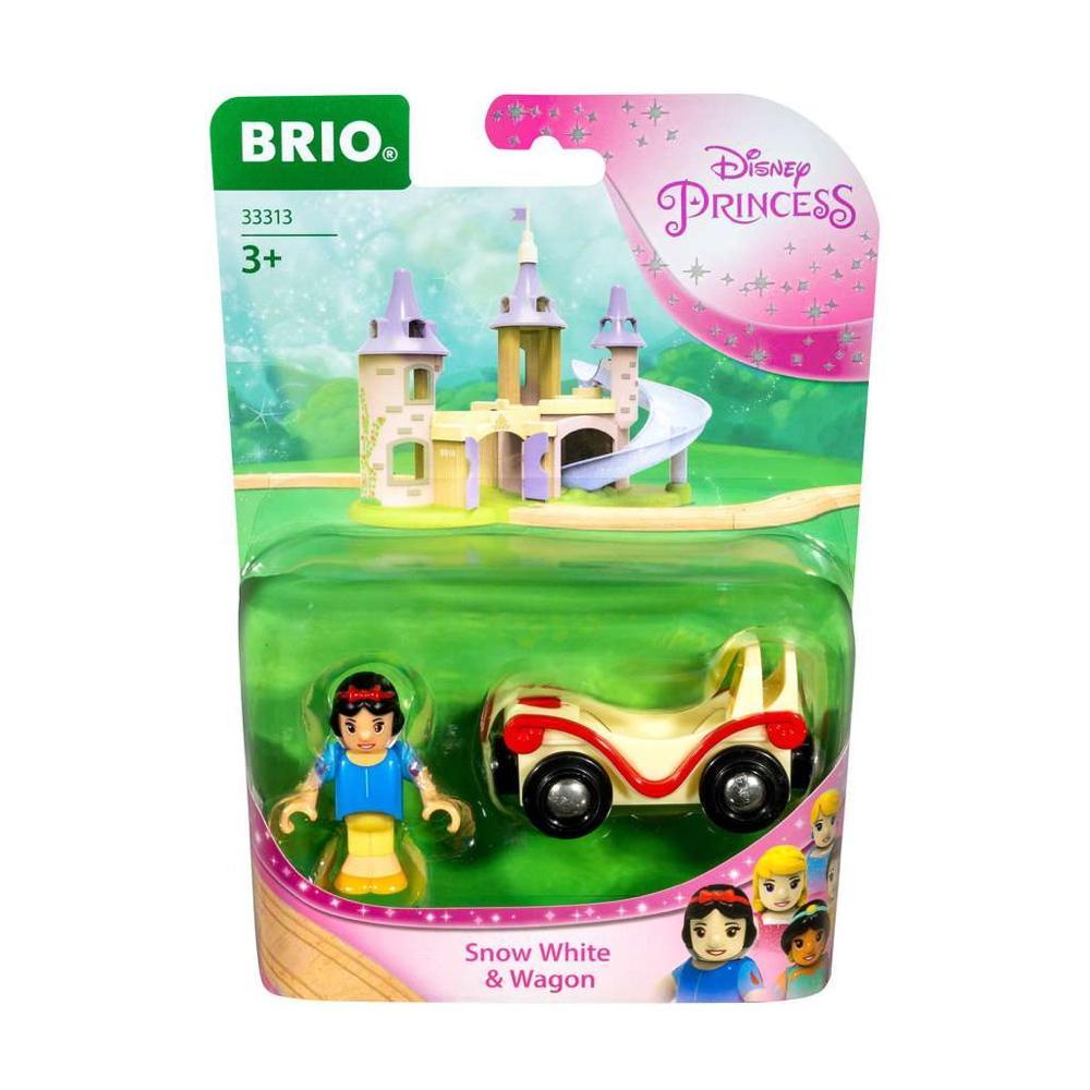 Brio World Eisenbahn Waggon Disney Princess Schneewittchen mit Waggon 2 Teile 33313