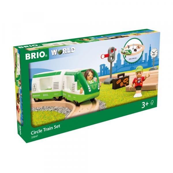 Brio World Eisenbahn Set Bahn Starter Set Reisezug 16 Teile 33847