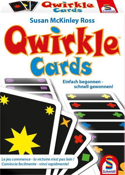 Schmidt Spiele Kartenspiel Zuordnungsspiel Qwirkle Cards 75034