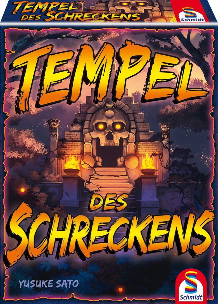 Schmidt Spiele Kartenspiel Bluffspiel Tempel des Schreckens 75046
