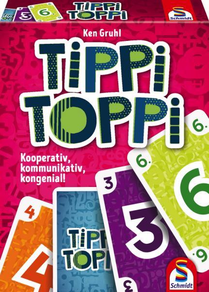 Schmidt Spiele Kartenspiel Kartenspiel Tippi Toppi 75051