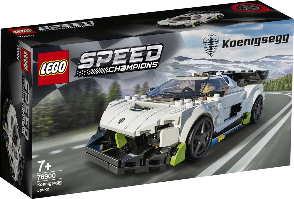 LEGO® Speed Champions Königsegg Jesko 280 Teile 76900