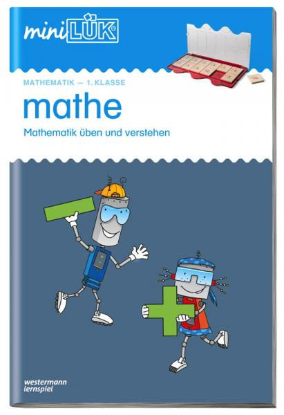 LÜK miniLÜK Buch mathe 1.Klasse Mathematik üben und verstehen ab 6 Jahren 0221