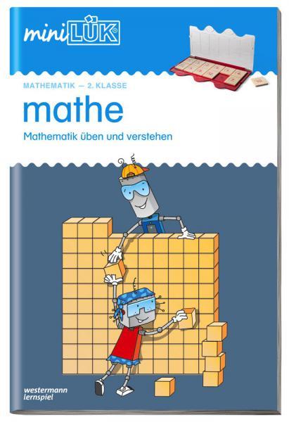 LÜK miniLÜK Buch mathe 2.Klasse Mathematik üben und verstehen ab 7 Jahren 0222