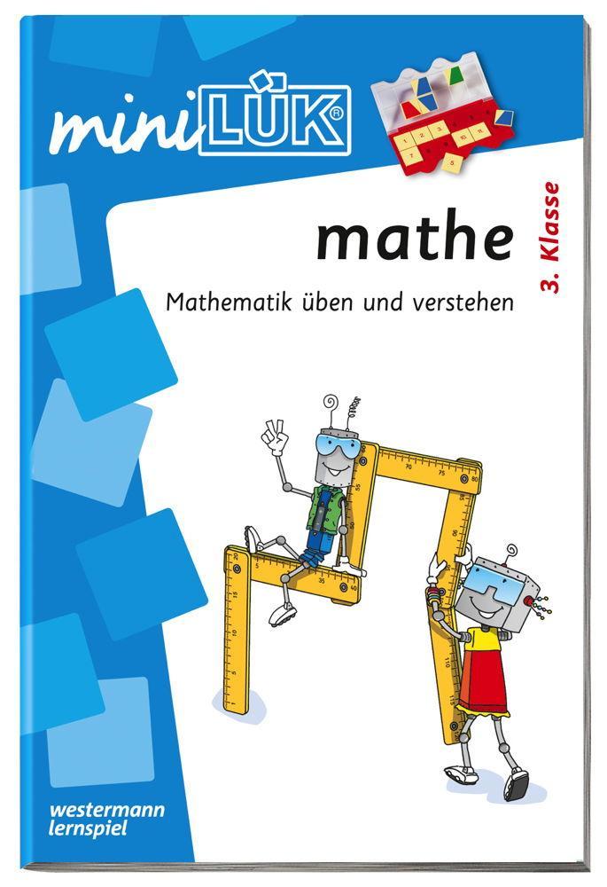 LÜK miniLÜK Buch mathe 3.Klasse Mathematik üben und verstehen ab 8 Jahren 0223