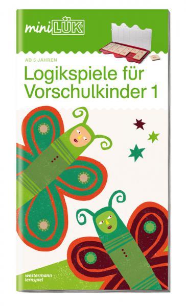 LÜK miniLÜK Buch Logikspiele für Vorschulkinder 1 ab 5 Jahren 0446