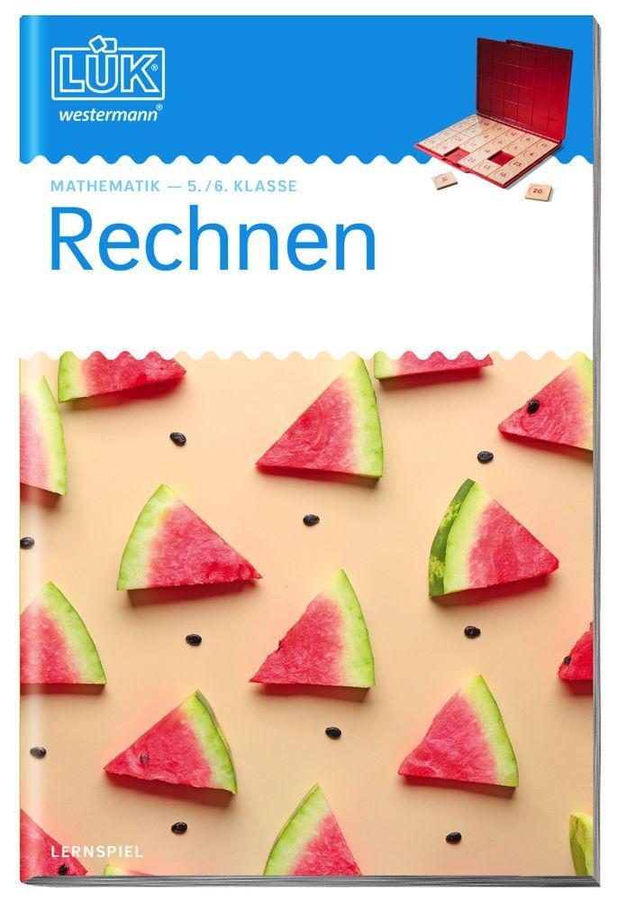 LÜK Buch Mathematik Rechnen ab 10 Jahren 0504