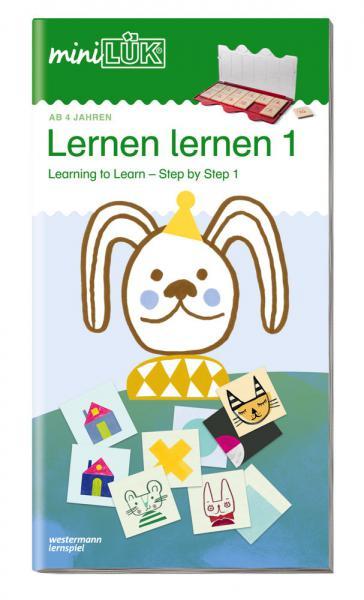 LÜK miniLÜK Buch Lernen lernen - Schritt für Schritt 1 ab 4 Jahren 4521