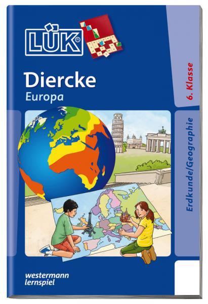 LÜK Buch Diercke - Europa Welche Staaten gehören zu Europa? ab 11 Jahren 4657