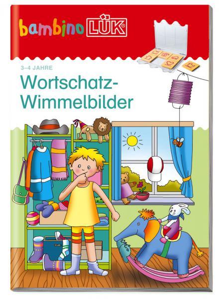 LÜK bambinoLÜK Buch Wortschatz-Wimmelbilder ab 3 Jahren 7979