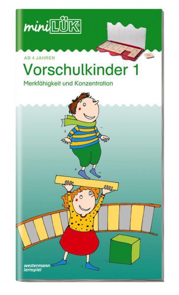 LÜK miniLÜK Buch Vorschulkinder 1 ab 4 Jahren 101