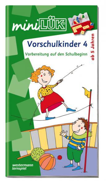 LÜK miniLÜK Buch Vorschulkinder 4 ab 5 Jahren 104