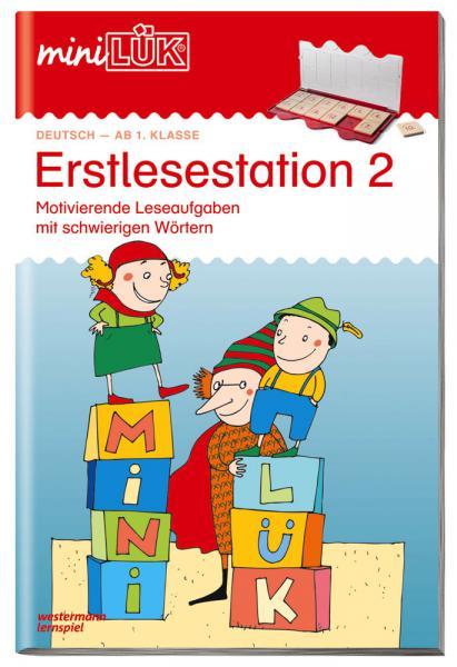LÜK miniLÜK Buch Erstlesestation 2 ab 6 Jahren 153