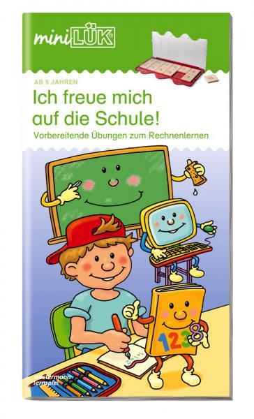 LÜK miniLÜK Buch Ich freue mich auf die Schule 2 ab 5 Jahren 162