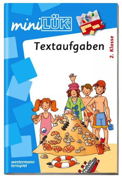 LÜK miniLÜK Buch Textaufgaben ab 2. Klasse ab 7 Jahren 262
