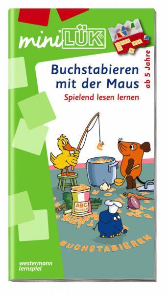 LÜK miniLÜK Buch Buchstabieren mit der Maus ab 5 Jahren 359