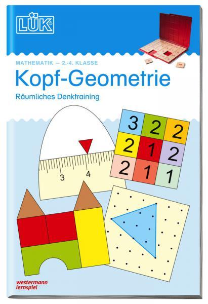 LÜK Buch Kopf-Geometrie ab 7 Jahren 518
