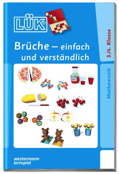 LÜK Buch Brüche - einfach und verständlich ab 8 Jahren 557