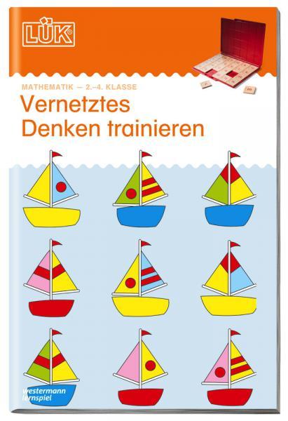 LÜK Buch Vernetztes Denken trainieren 2 für Klasse 2 bis 4 ab 7 Jahren 906