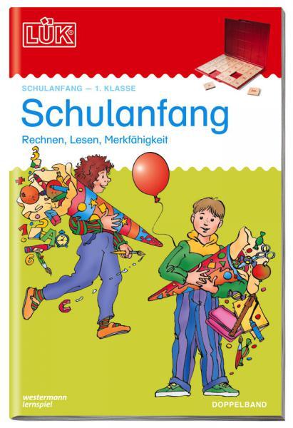 LÜK Buch Schulanfang Doppelband ab 5 Jahren 923