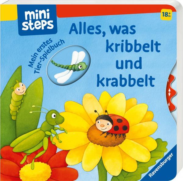 Ravensburger ministeps Buch Alles, was kribbelt und krabbelt 30054