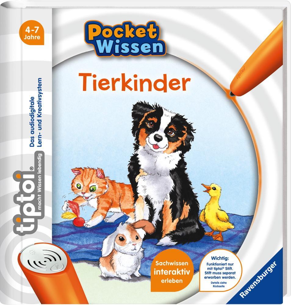 Ravensburger tiptoi Buch Pocket Tierkinder 55476