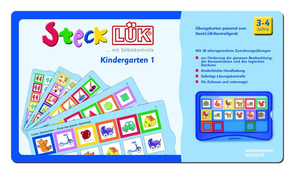 LÜK SteckLÜK Kindergarten 1 ab 3 Jahren 8201