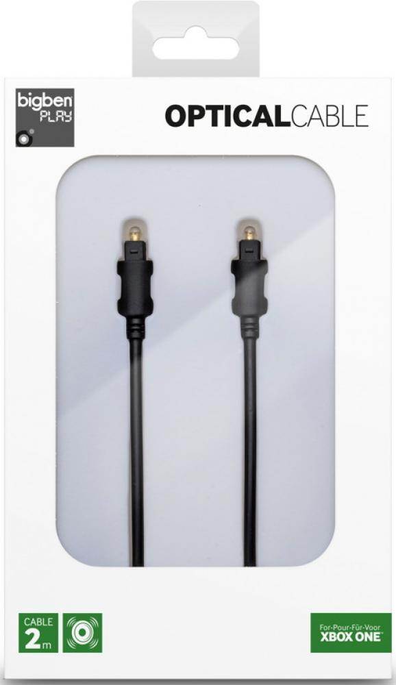 Bigben Xbox One optisches Audio Kabel 2 m schwarz PS4 BB320916