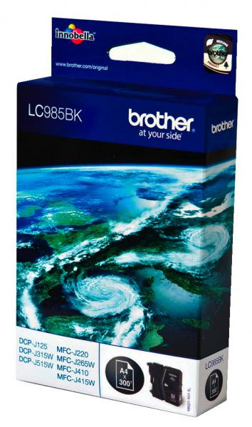 Brother Druckerpatrone Tinte LC-985 BK black, schwarz LC985BK