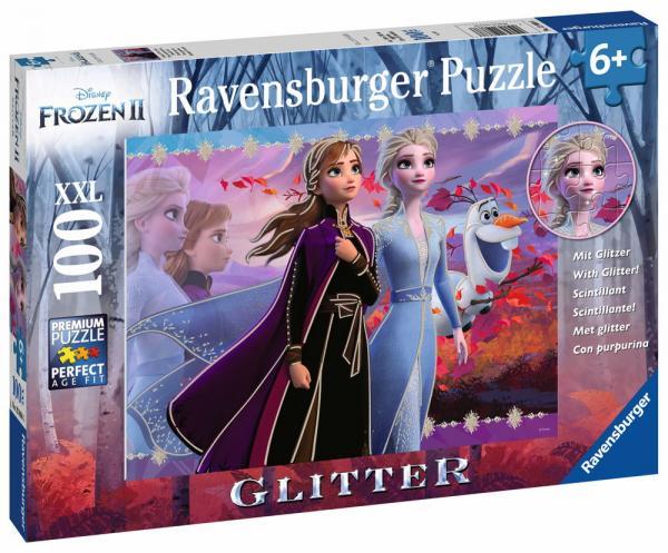 100 Teile Ravensburger Kinder Puzzle XXL Brilliant Disney Frozen 2 12868