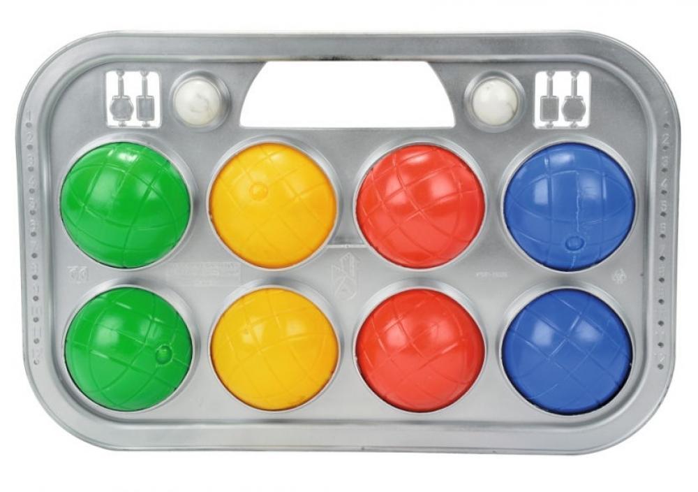 Simba Outdoor Spielzeug Ballspiel Boccia Spiel Tragekorb 107401391