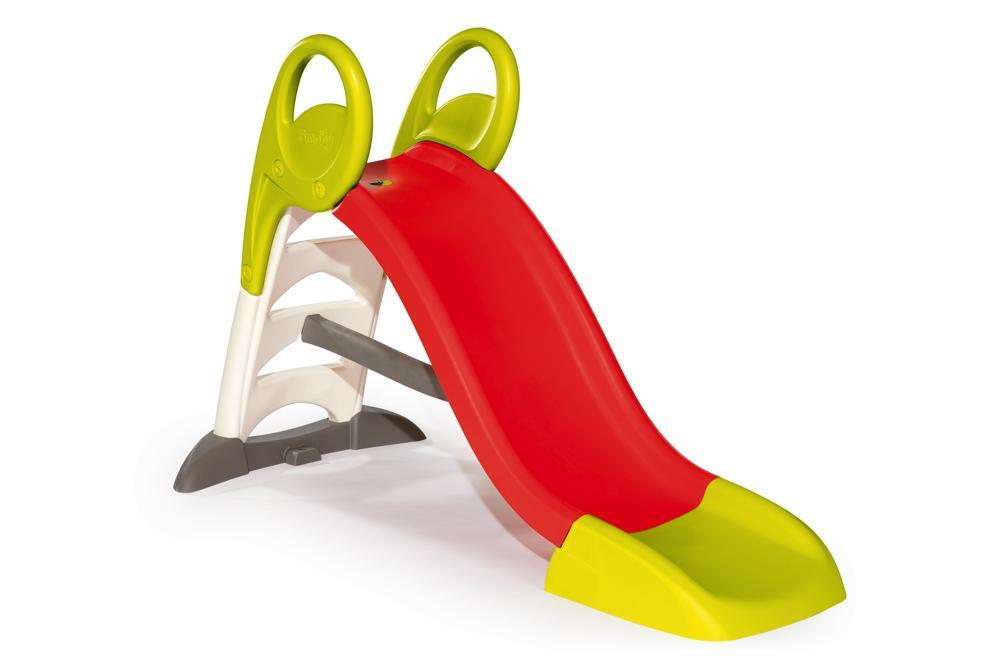 Smoby Outdoor Spielzeug Garten Rutsche KS Rutsche rot 7600310262